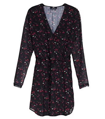 Cerises Le Des Vêtements Noir Et Robe Shayanne Temps TqCn6cqwE b8120b270915