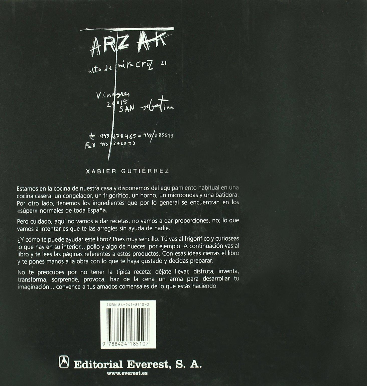 Cocinar lo menos posible (Cocina de autor): Amazon.es: Gutiérrez ...