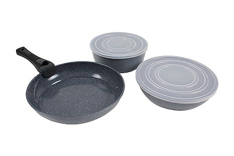 Juego Cocina De Aluminio Forjado: Amazon.es: Hogar
