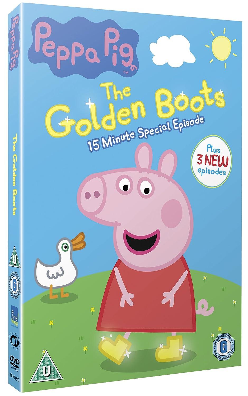 peppa pig golden boots