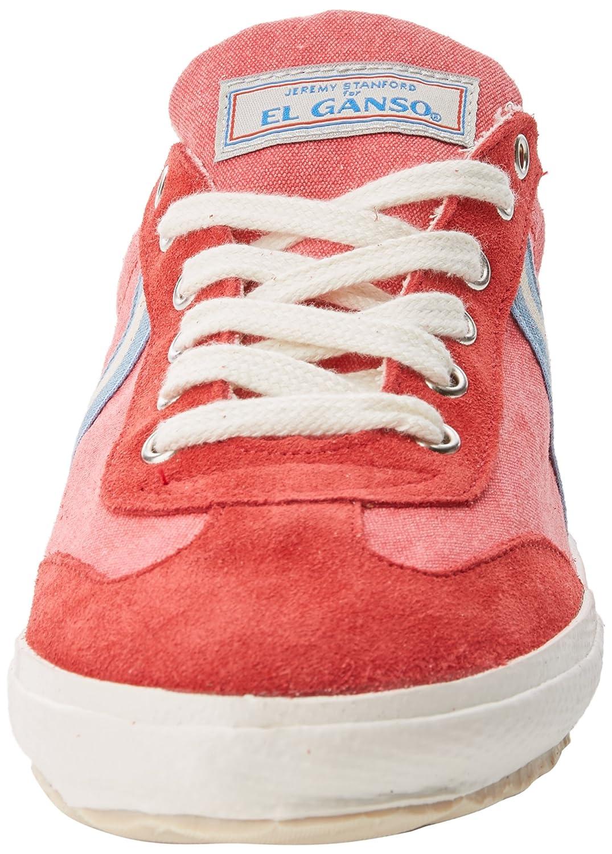 El Ganso Match Washed Classic Ribbon, Zapatillas de Deporte Unisex Adulto, Rojo (Strawberry Único), 45 EU: Amazon.es: Zapatos y complementos