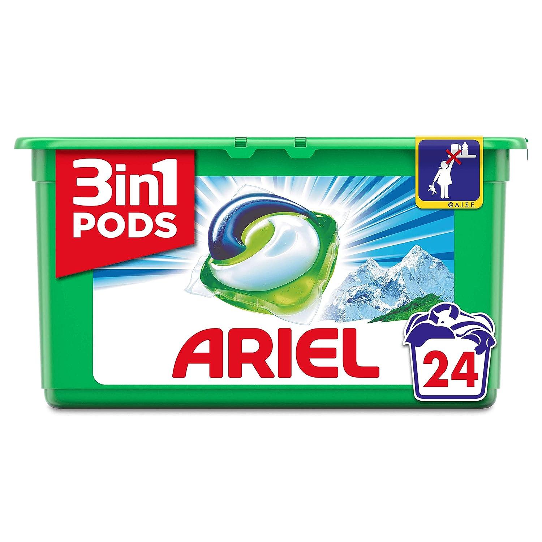Ariel 3 en 1 Pods - Cápsulas, alpine, 23 lavados: Amazon.es: Salud ...