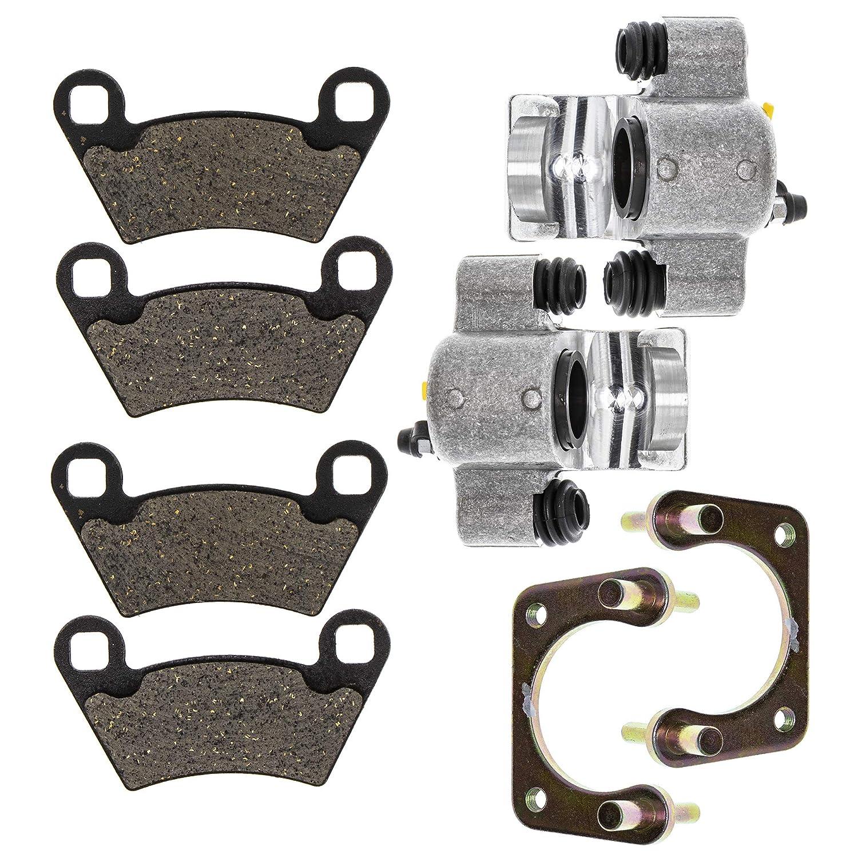 NICHE Front Left Right Brake Caliper Pad Set For 2010-2015 Polaris Ranger ETX 400 500 570 800