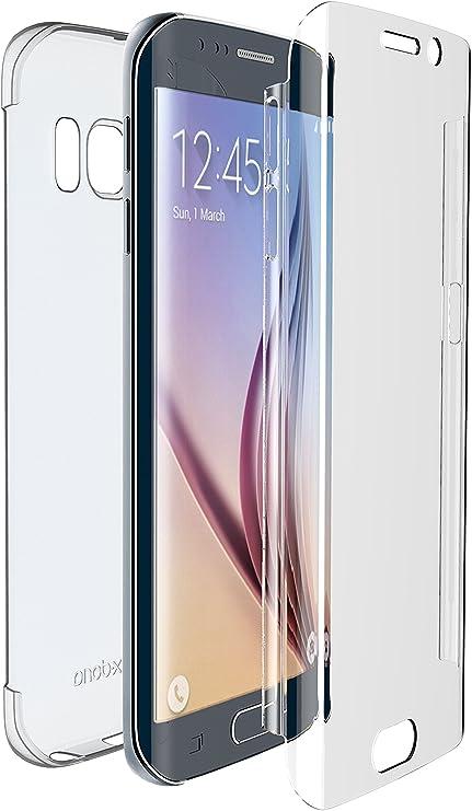 X Doria Defense 360 Thin Polycarbonate Hard Screen Protective Shield Cover Case for Samsung Galaxy S6 Edge Transparent