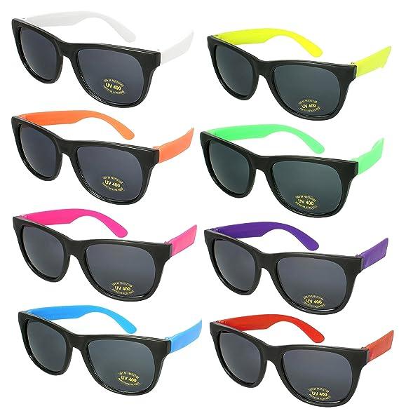 Amazon.com: Edge i-wear 8 Pack Party anteojos de sol con ...