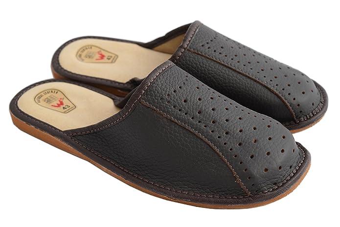 Natleat Slippers , Mädchen Damen Slipper, Zehenstegsandalen , braun - Brown / 2 - Größe: 40 EU