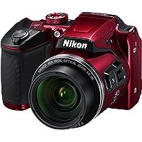 Nikon B500 Coolpix Digital Compact Camera - Red