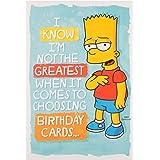 Hallmark 25488534 Simpsons Birthday CardChoose You A Present