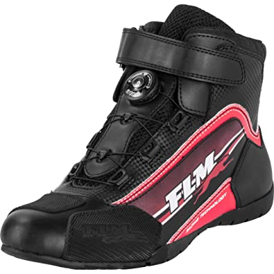 Motorradstiefel kurz Rush Waterproof Stiefel Sommer Leder//Textil Unisex TCX Motorradschuhe Sportler