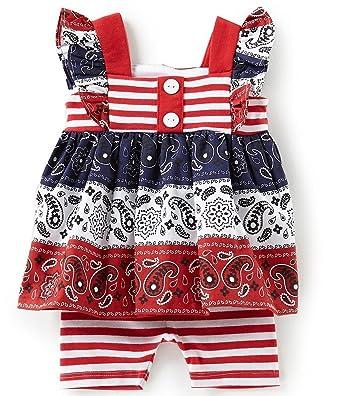 8cf521c22221 Amazon.com  Bonnie Jean Girls American Patriotc 4th of July Shorts ...