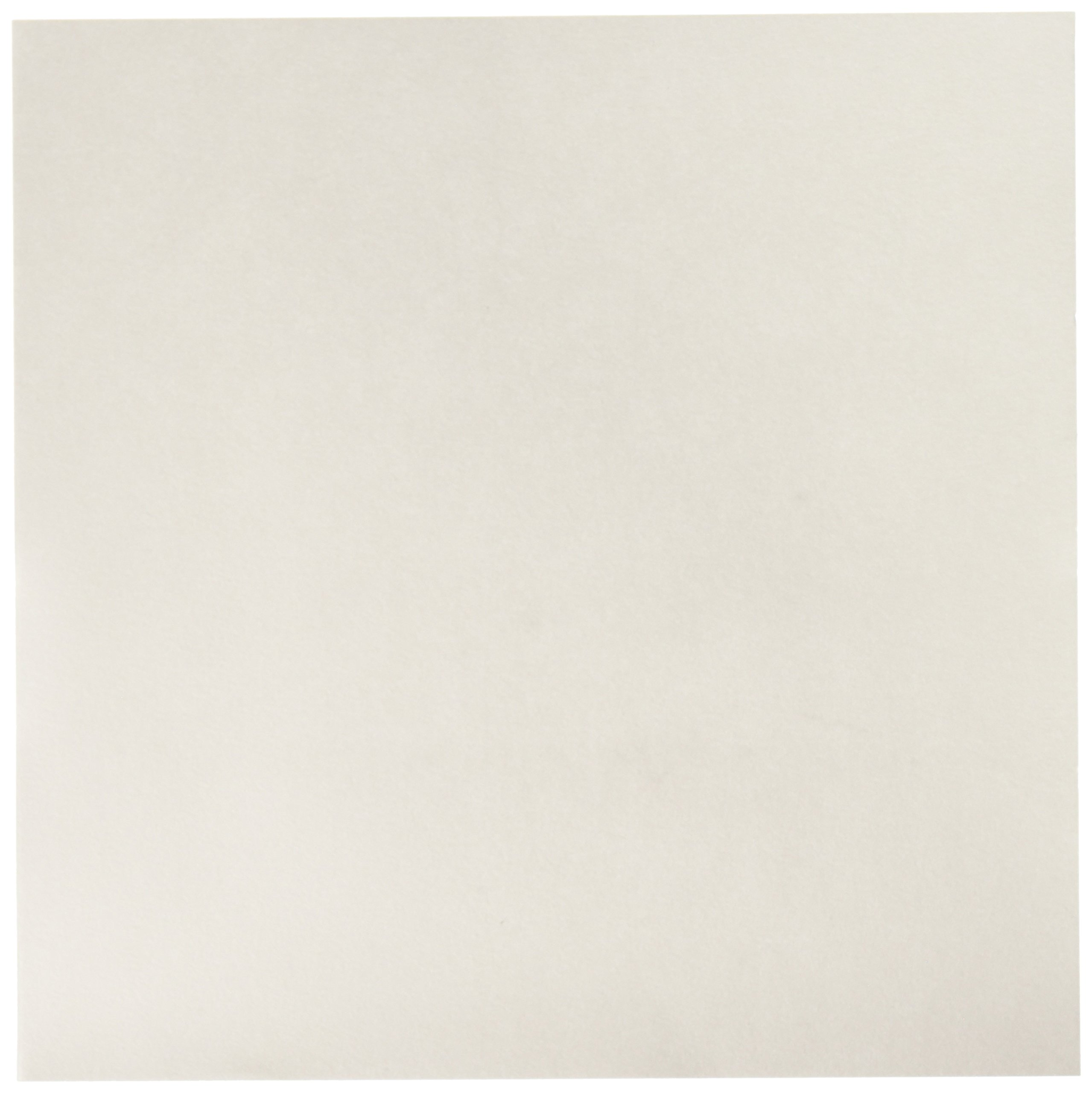 GE Whatman 3001-861 Cellulose Chromatography Paper Sheet, 20cm Length x 20cm Width, 14psi Dry Burst, 130mm/30min Flow Rate, Grade 1 (Pack of 100) by Whatman