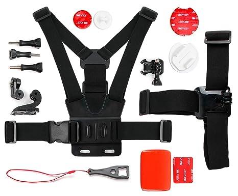 DURAGADGET Kit de Accesorios para La Cámara Deportiva SjCAM M10 | M10 WiFi | M10+ |