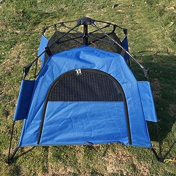 RORAIMA Instant Dog tent mesh fabric with Rain and sunproof flyindoor or outdoor use & Amazon.com : RORAIMA Instant Dog tent mesh fabric with Rain and ...