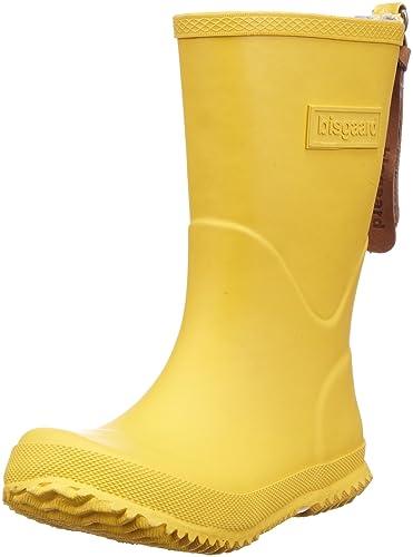 Bisgaard Unisex-Kinder Rubber Boot Star Gummistiefel, Gelb (80 Yellow), 35 EU