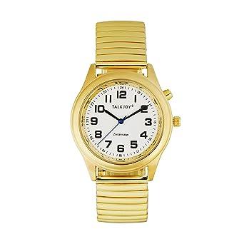 Premium Femme Montre bracelet parlante dor seniors aveugles Horloge ...