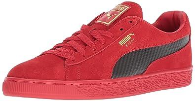 another chance d4f4f 8717e Amazon.com | PUMA Men's Ferrari Suede 50 Sneaker | Fashion ...