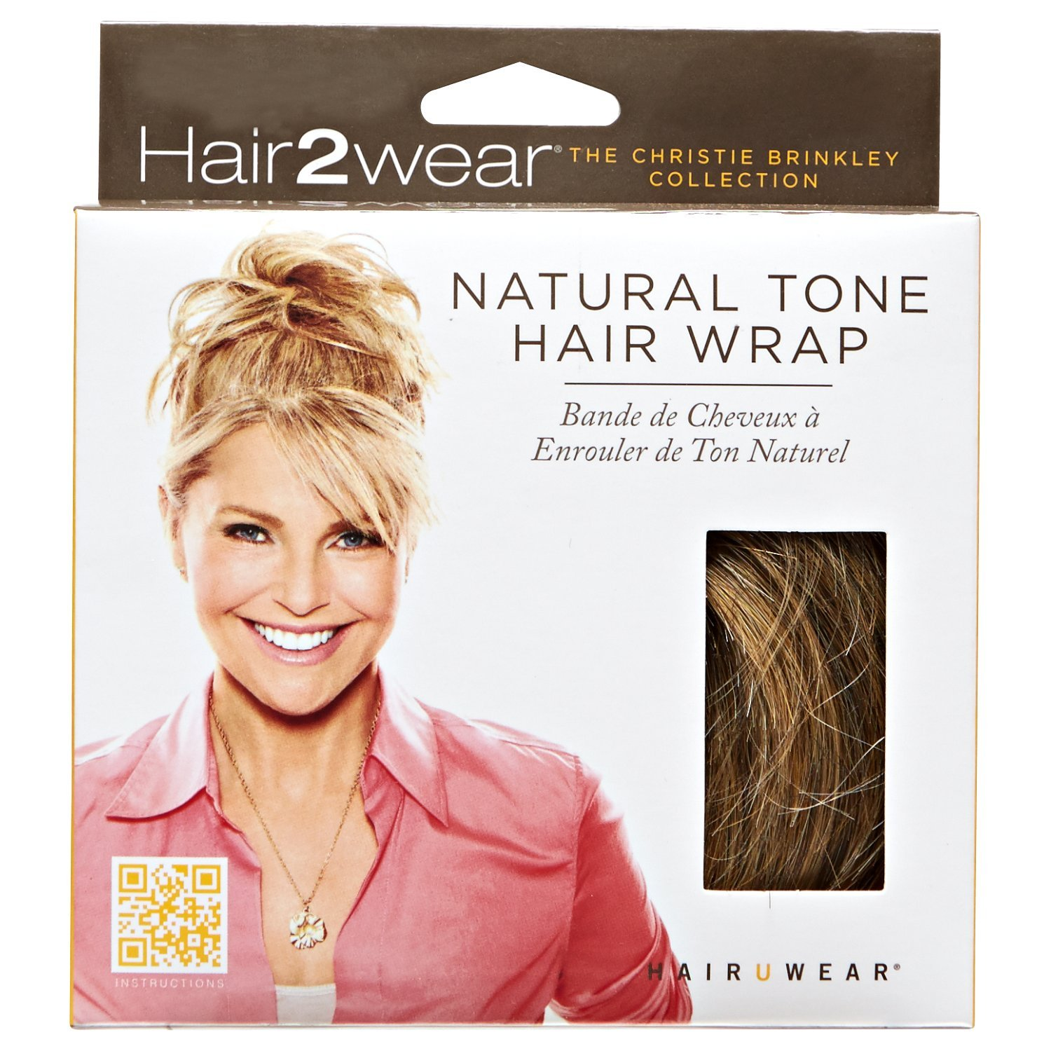 Amazon 12 Inch Clip On Hair Extensions By Christie Brinkley