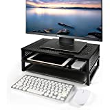 Simple Trending 2-Tier Monitor Stand Riser,...