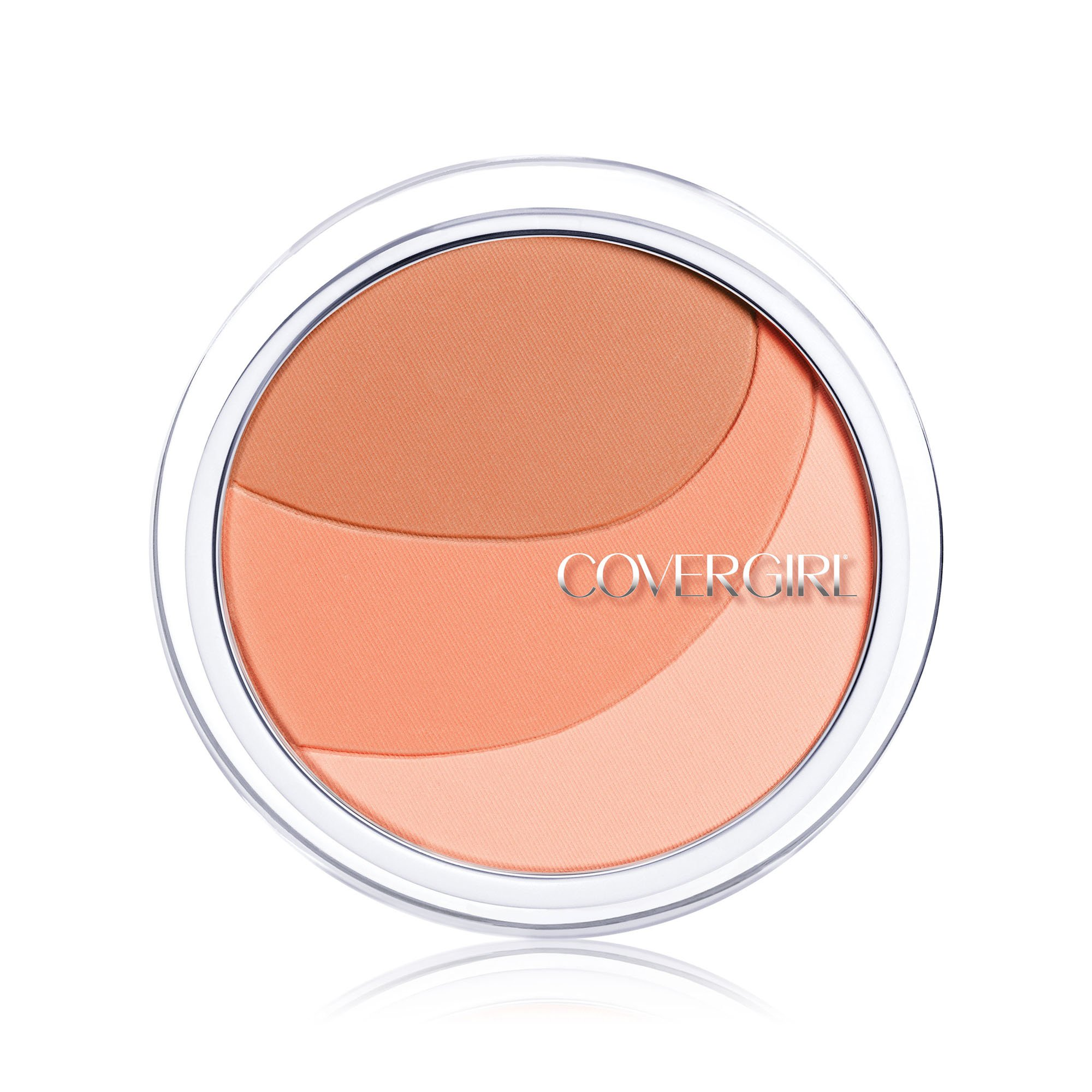 COVERGIRL Clean Glow Lightweight Powder Blush Peaches 110, .42 oz (packaging may vary)
