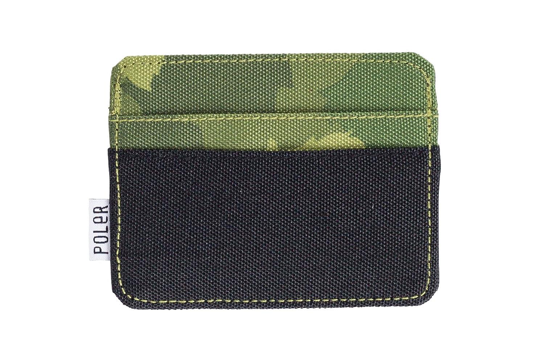 Poler Men's Cardclops Wallet Green Furry CAMO One Size Poler Young Mens Child Code 33800001