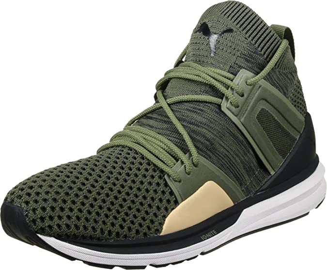 823c237f3ceb Puma Men s B.O.G Limitless Hi Evoknit Sneakers  Buy Online at Low Prices in  India - Amazon.in