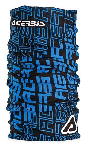 Acerbis halswärmer rattlehead Negro/Azul