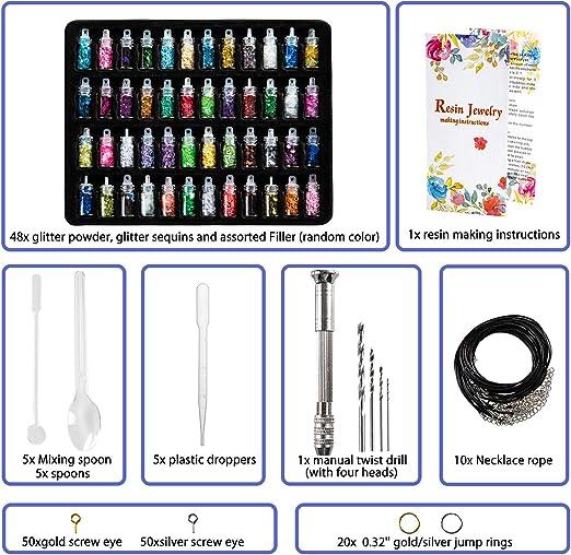 Random KeychainEarring Resin Mold Set