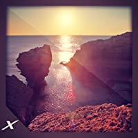 Beautiful Coastline View - Multi-Colour Water Cliff Side