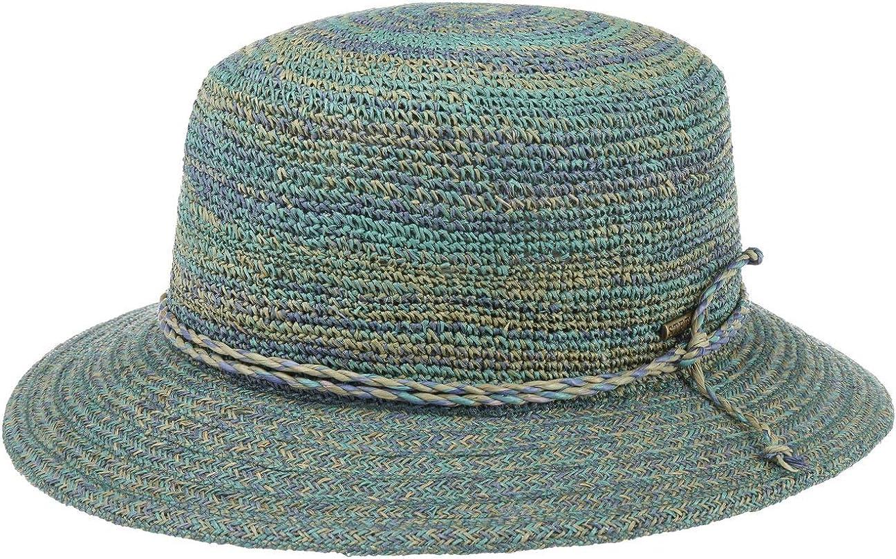 Stetson Sombrero Rafia Crochet Hombre - de Playa Verano Primavera/Verano