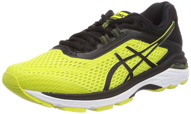 Asics Gt-2000 6, Zapatillas de Running para Hombre 40.5 EU|Multicolor (Sulphur Spring/Black/White 8990)