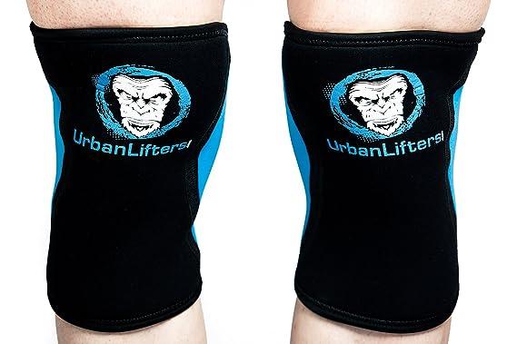 Urban Lifters Rodilleras (Par) 7mm Knee Sleeves Crossfit/Halterofilia: Amazon.es: Deportes y aire libre