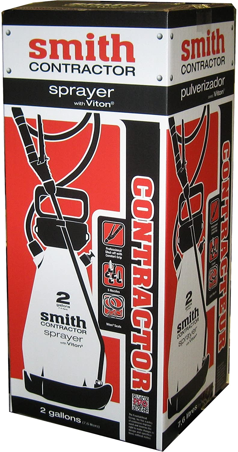 Smith Contractor 190216 2-Gallon Sprayer for Weed Killers, Herbicides, and Insecticides : Lawn And Garden Sprayers : Garden & Outdoor