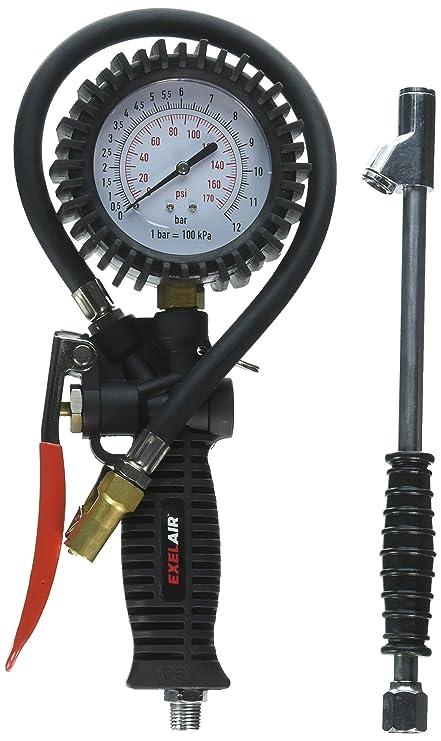 exelair ex536kit 3 en 1 Profesional analógica empuñadura de pistola neumático inflador/deflactor Kit de