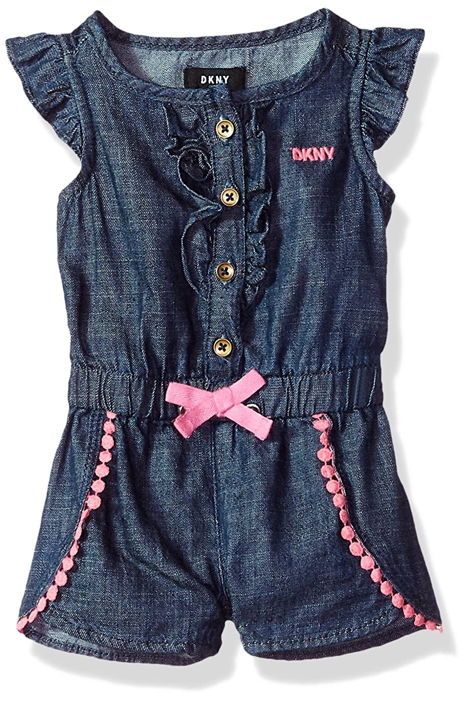 DKNY Baby Girls Romper