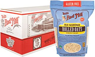 product image for Bob's Red Mill Gluten Free Old Fashion Rolled Oats, 52 Ounce (Pack of 4)