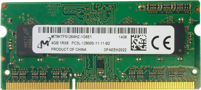MICRON MT4KTF25664HZ-1G6E1 2GB NOTEBOOK SODIMM DDR3 PC12800(1600) UNBUF 1.35v 1RX16 204P 256MX64 256