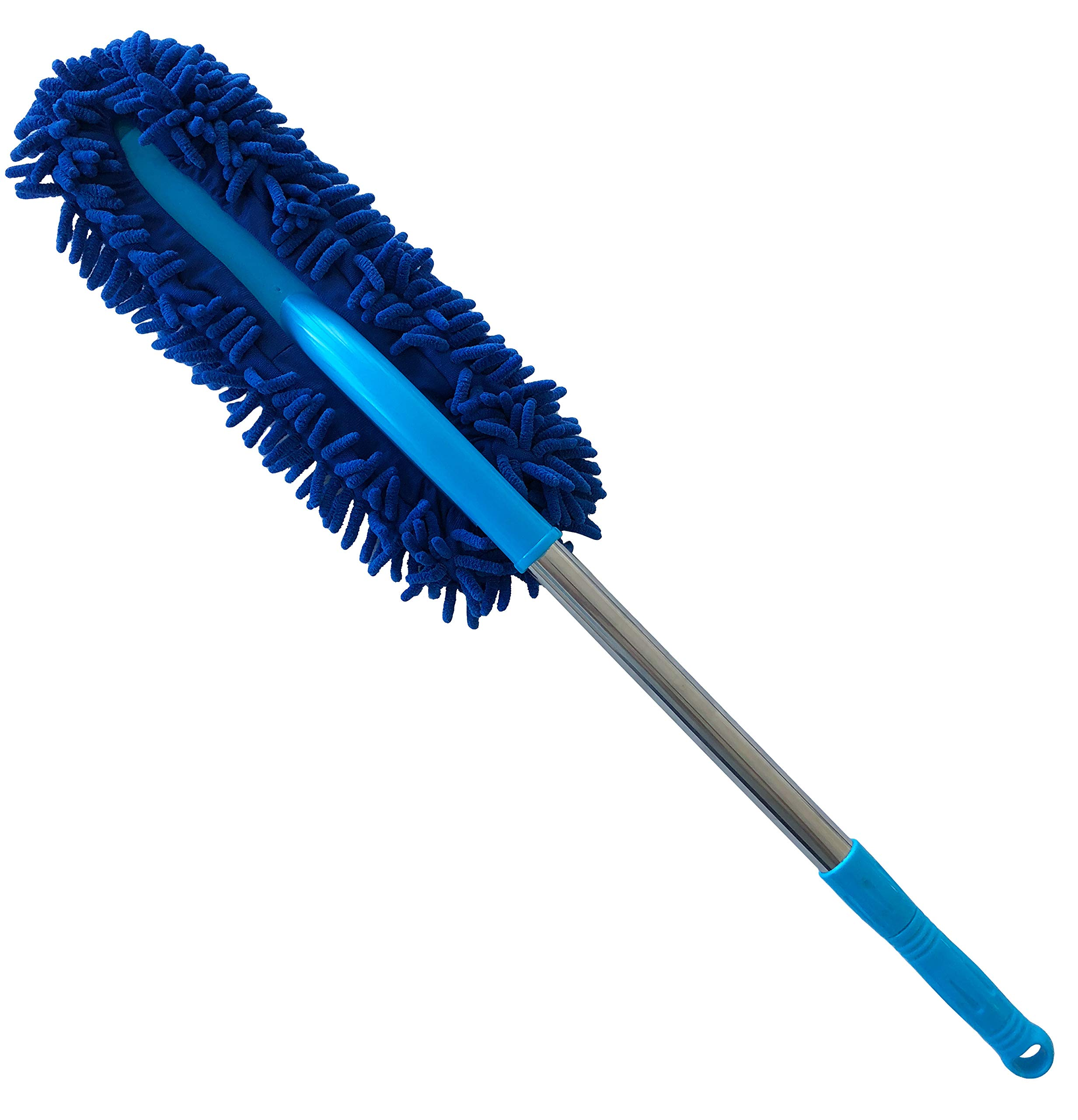 40'' 2-in-1 Long Chenille Microfiber Wash Mop with 24'' Extension Pole - Typhon East
