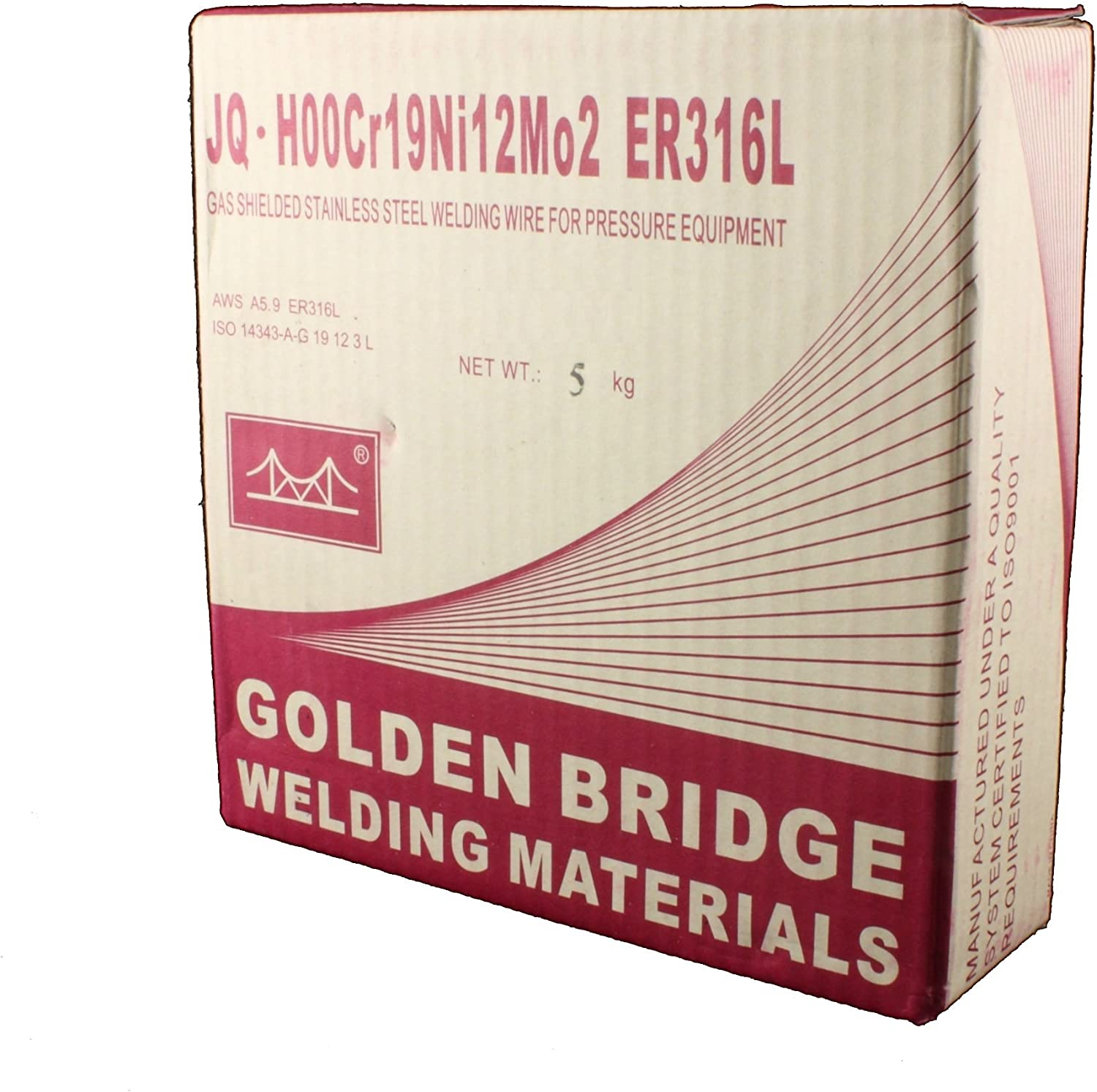 ER316L 11 Lb x 0.030 MIG Stainless Steel Welding Wire