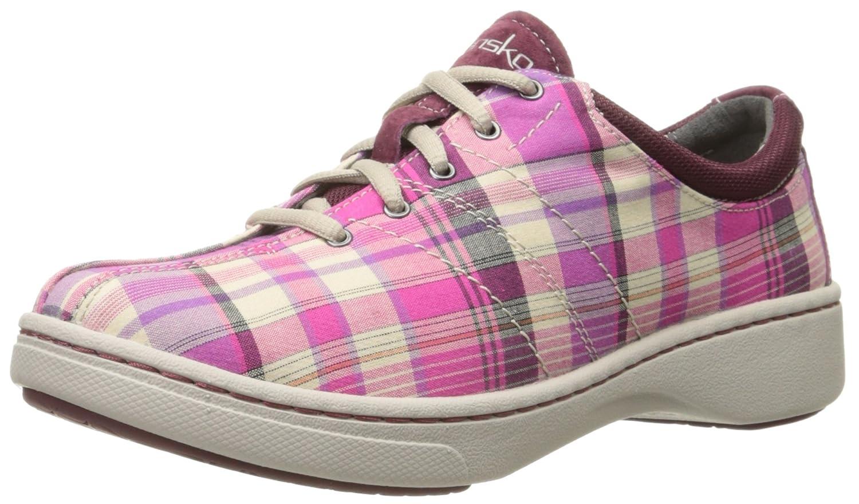 Pink Madras Dansko Women's Brandi Pink Madras Fashion Sneaker