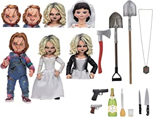 "NECA - Bride of Chucky - 7"" Scale Action Figure - Ultimate Chucky & Tiffany 2-Pack"