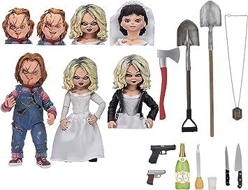 NECA- Chucky, el muñeco diabólico Pack 2 Figuras Ultimate Chucky ...