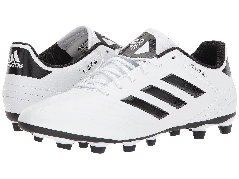 (アディダス) adidas メンズサッカーシューズ靴 Copa 18.4 FG White/Black/Tactile Gold 9 (27cm) D Medium B07BQFBNZC
