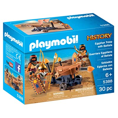 PLAYMOBIL Egyptian Troop with Ballista: Toys & Games