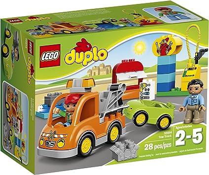 LEGO DUPLO Tow Truck 10814 by LEGO: Amazon.es: Juguetes y juegos