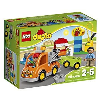 LEGO DUPLO Town Tow Truck (28 Piece), Building Sets - Amazon Canada