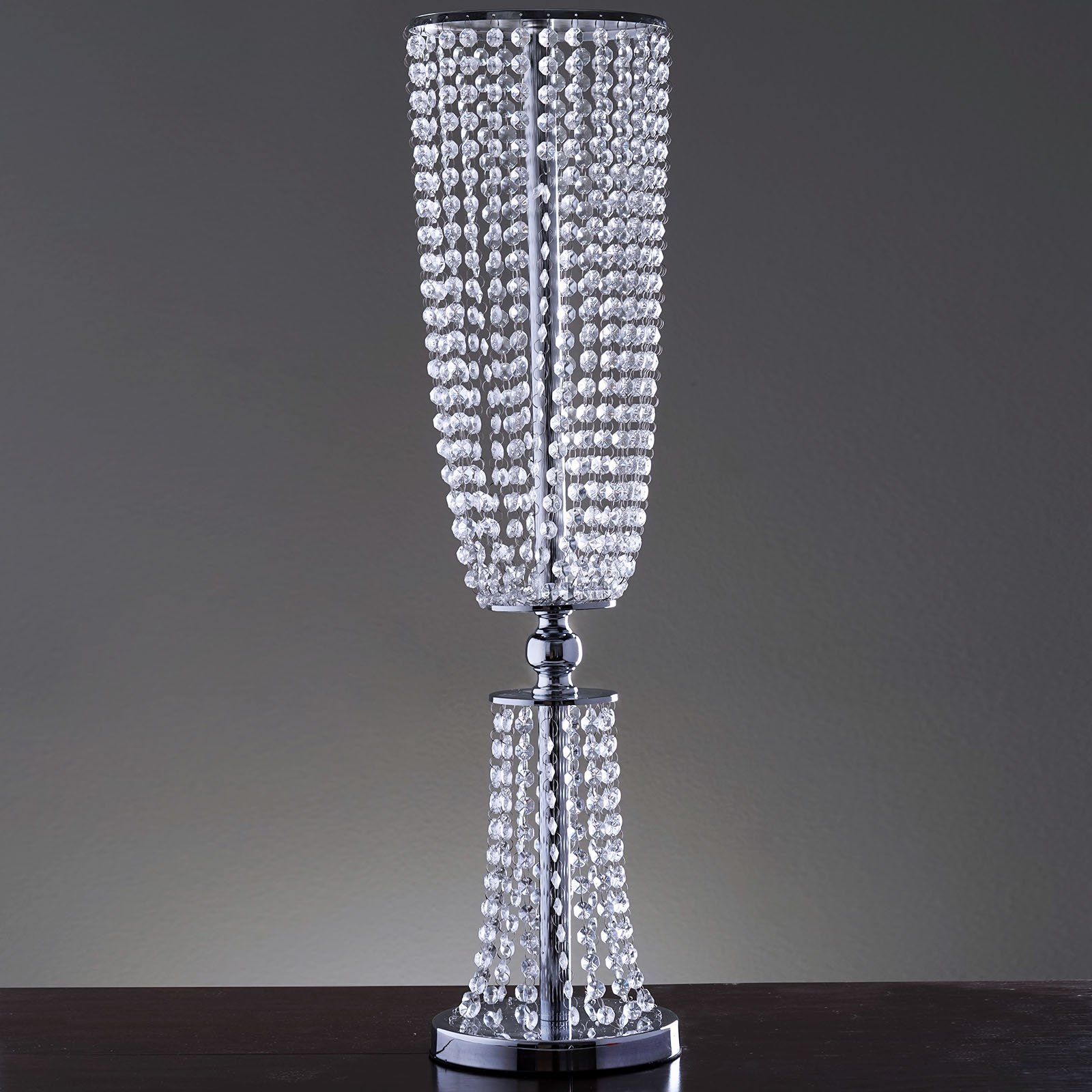 Tableclothsfactory 32'' Tall Exotic Designer Crystal Garland Chandelier Wedding Centerpiece