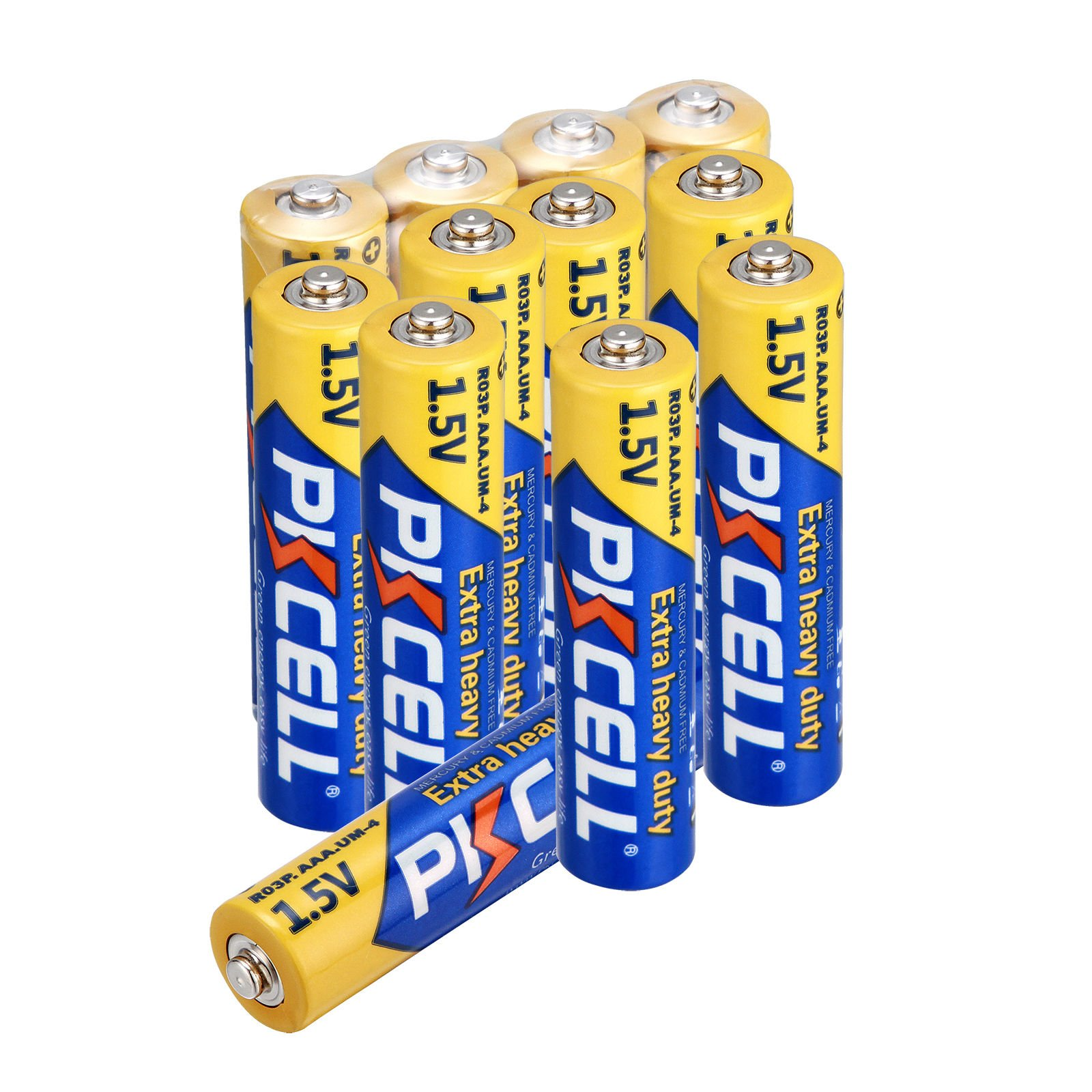 1.5V AAA R03P Carbon Zinc Battery 2000pcs by PKCELL (Image #2)