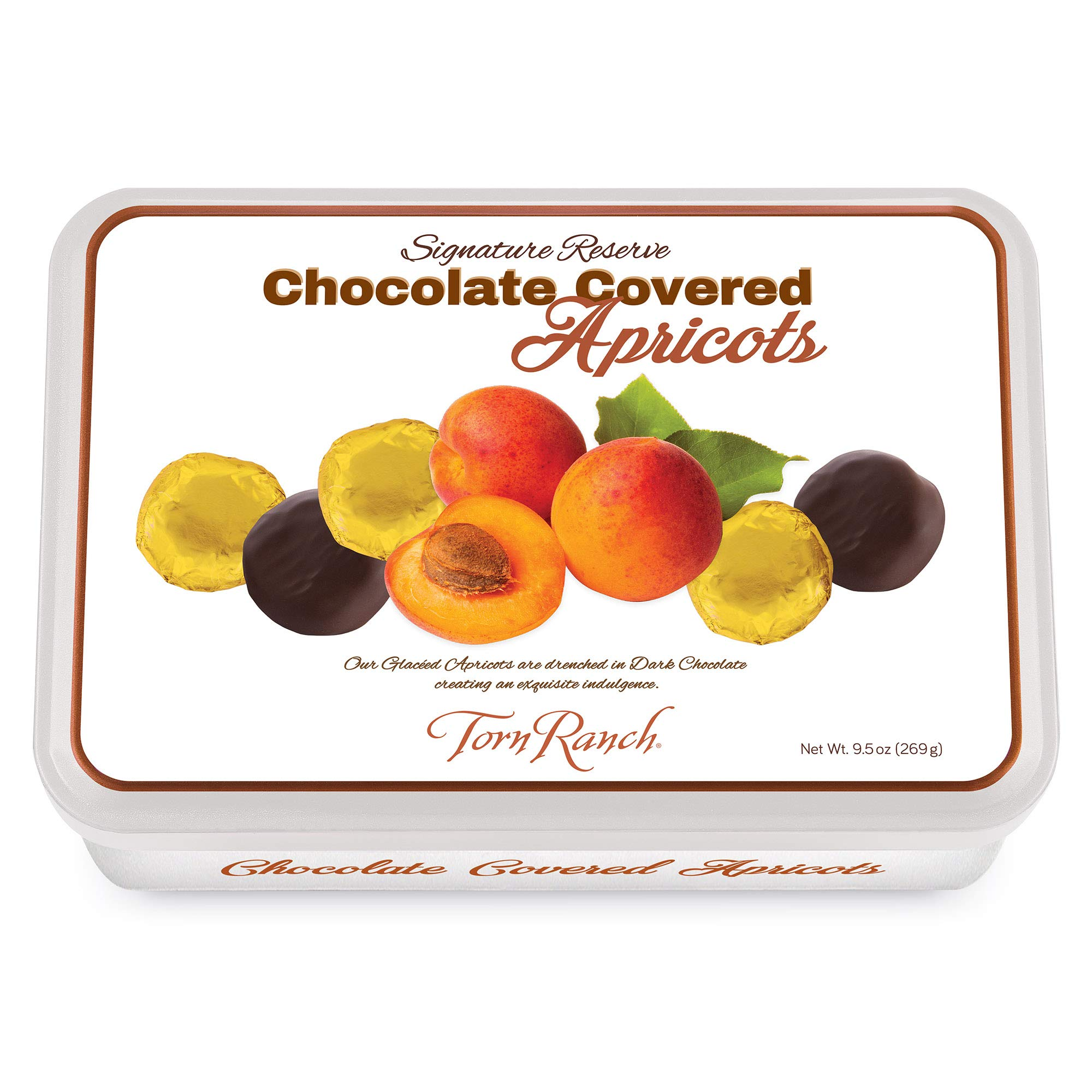 Chocolate Covered Apricots Gift Tin by Torn Ranch