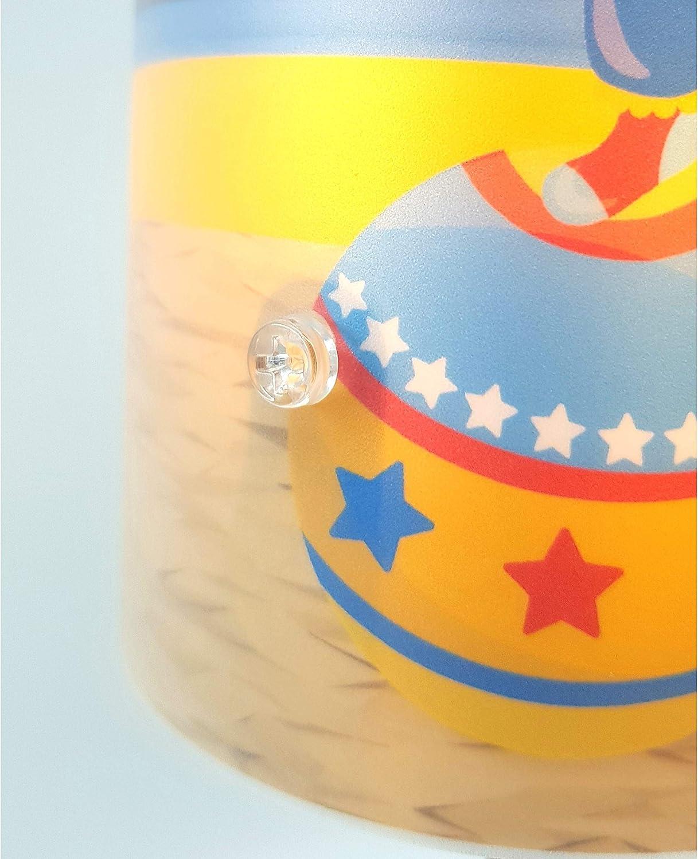 38 cm hoch Kinder Tischlampe//Schlummerlicht mit Schalter f/ür Steckdose CreaDesign TI-1007-02 Eule rosa Nachttischlampe Kinderzimmer mit Namen E14