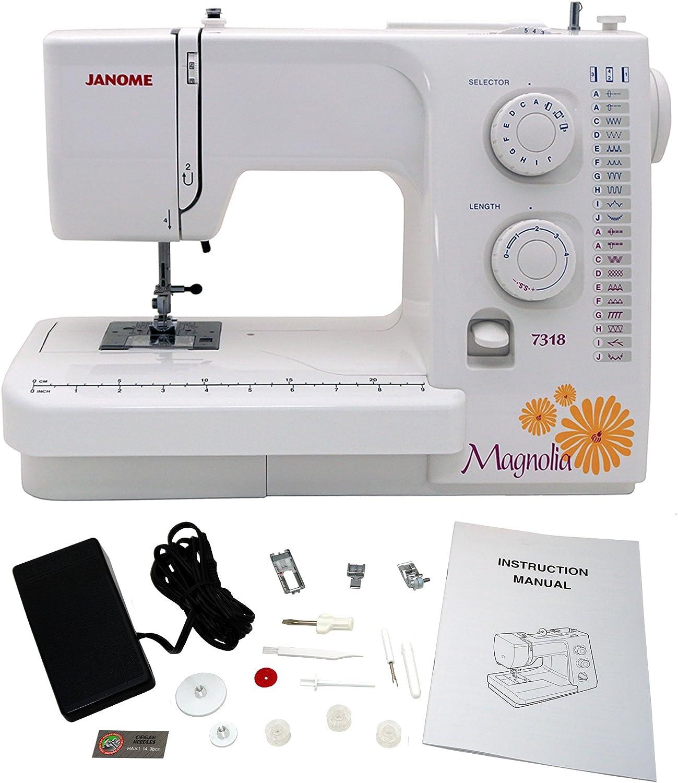 Máquina de coser Janome: Amazon.es: Hogar